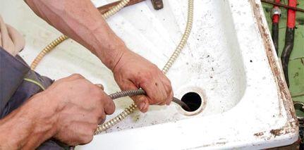 Déboucher canalisation douche naturellement avec Débouchage canalisation furet électrique