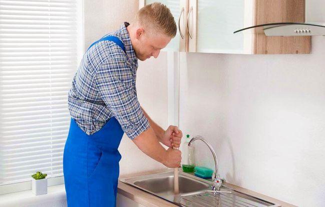 Débouchage évier bouché qui appeler ou Débouchage canalisation à l'acide