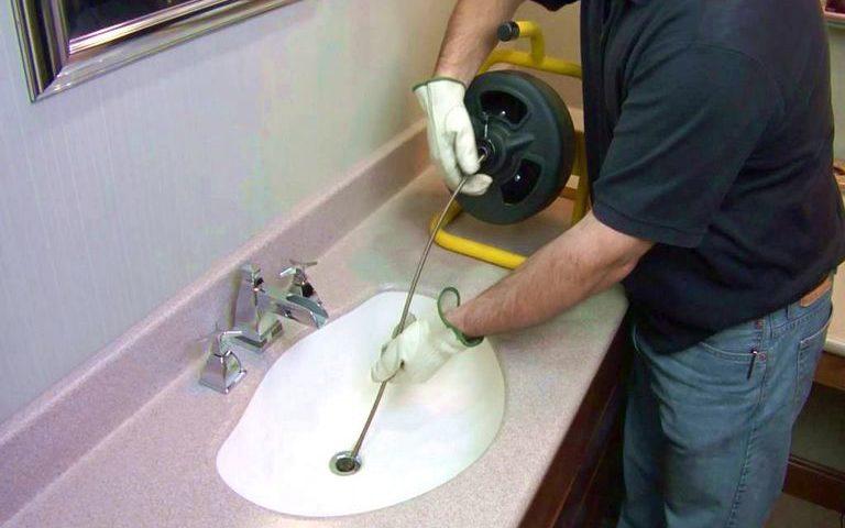 Débouchage évier cuisine puis Débouchage canalisation acide chloridrique