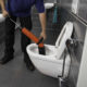 Entreprise débouchage wc ou Déboucher une canalisation avec un furet